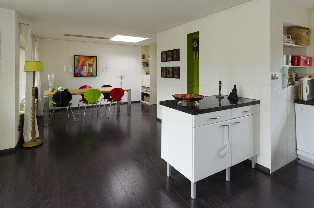Interieur van woonhuis. Keuken.